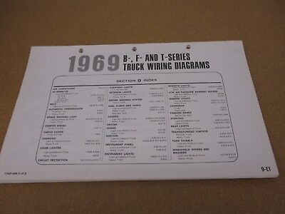 1980 FORD COURIER pickup truck wiring diagram schematic SHEET
