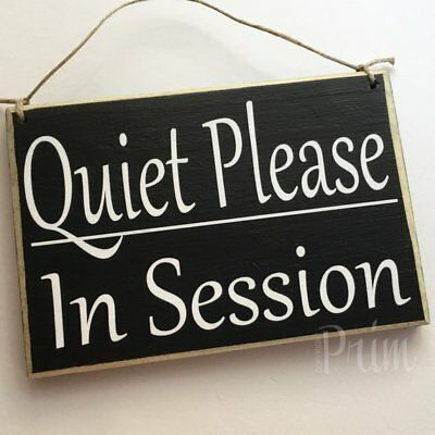 MEETING ROOM CUSTOM Wood Sign 8x6 Please Do Not Disturb Sign Welcome
