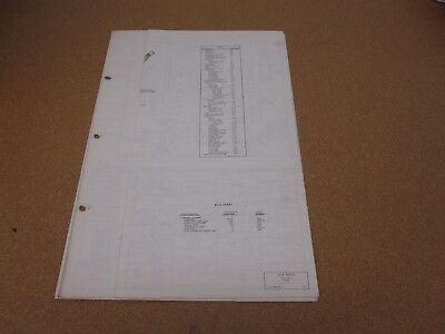 1976 76 FORD Courier electrical wiring diagram SHEET schematics