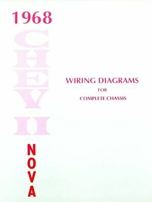 73 CHEVY NOVA Electrical Wiring Diagram Manual 1973 - $799 PicClick