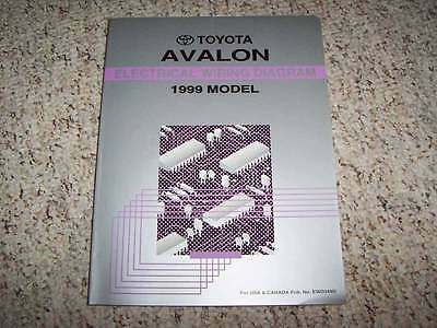 2000 TOYOTA AVALON Service Electrical Wiring Diagram Manual - $1999