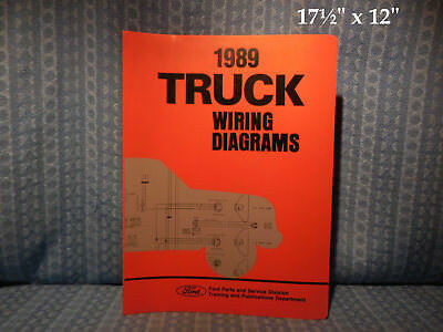 1989 FORD CARGO Truck  Tractor Wiring Diagrams Manual - $1199