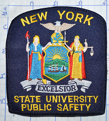 NEW YORK STATE Police Patch - Small - $500 PicClick - Nys University Police