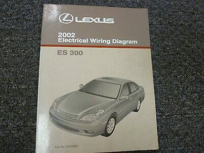 1998 LEXUS ES 300 Wiring Diagram Manual 98 ES300 Electrical