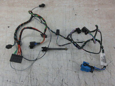 PEUGEOT 206 16 GLX 2001 - wiring loom harness from interior fuse
