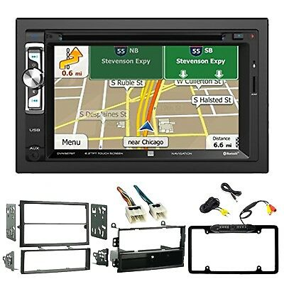 DUAL DOUBLE-DIN BLUETOOTH Receiver, Dash Kit, Wiring Harness