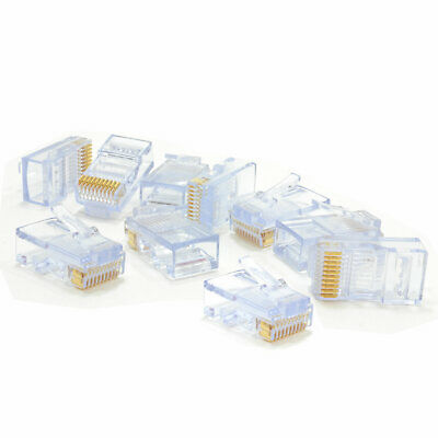 10 PIN 10P10C Rj45 Rj 50 Cable - Ideal For Rs322 Rs485 Rs422 Device