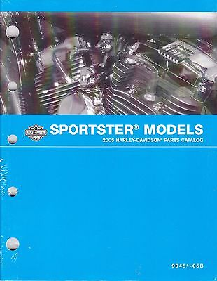 2005 HARLEY SPORTSTER 883 XL883 1200 XL1200 Parts Manual Catalog