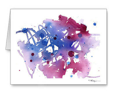 PURPLE BIKE NOTE Cards With Envelopes - $1800 PicClick