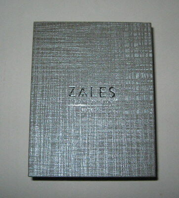 NEW ZALES THE Diamond Store Silver Jewelry Gift Box for Necklace and