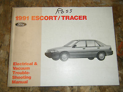 1999 FORD ESCORT Tracer Electrical Wiring Diagrams Service Manual
