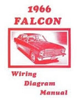 1966 Ford Falcon Wiring Diagram Manual \u2022 $1295 - PicClick