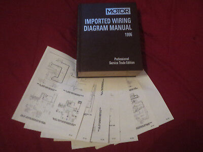 1996 NISSAN ALTIMA Owners Manual Case Warranty Free Shipping - $984