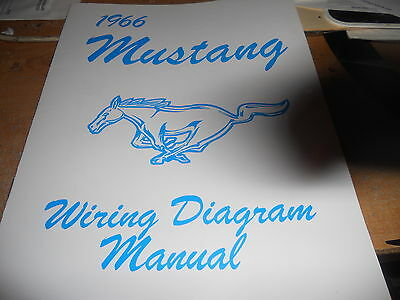 1966 FORD MUSTANG Owners Manual  Wallet - $2225 PicClick