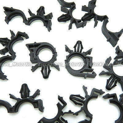 10 WIRE LOOM Routing Clip Retainer Conduit Wiring Harness A14544 For