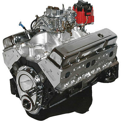 BLUEPRINT SMALL Block Chevy 101 SBC 383 Stroker Crate Engine, 420hp - copy blueprint engines how to