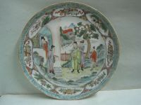 RARE Antique Chinese Porcelain Export Plate Unusual ...