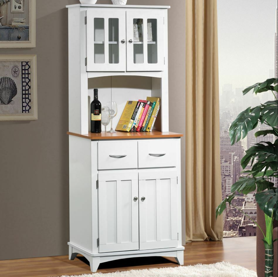 Jolly Kitchen Hutch Buffet Table Small China Cabinet Storage Pantry Drawers New Shipping See More Kitchen Hutch Buffet Table Small China Cabinet Storage Pantry houzz-02 Small China Cabinet
