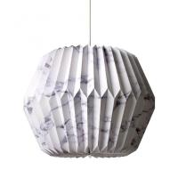 DIY PENDANT MARBLE Pattern Ceiling Lamp Shade Hanging ...