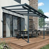PATIO COVER Awning Garden 3m x 9.15m Outdoor Canopy ...