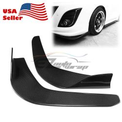 Lummy Of Shipping Real Carbon Fiber Type Front Bumper Lip Kit Diffuser Canard Carbon Fiber Kitchen Cabinets Carbon Fiber Kitchen Utensils