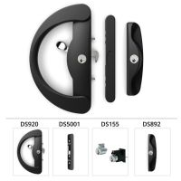 DORIC DS920 SLIDING glass door lock handle with internal ...