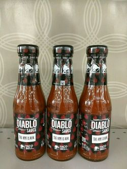 Small Of Taco Bell Diablo Sauce