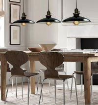 BLACK PENDANT Lighting Kitchen Lamp Modern Ceiling Lights ...