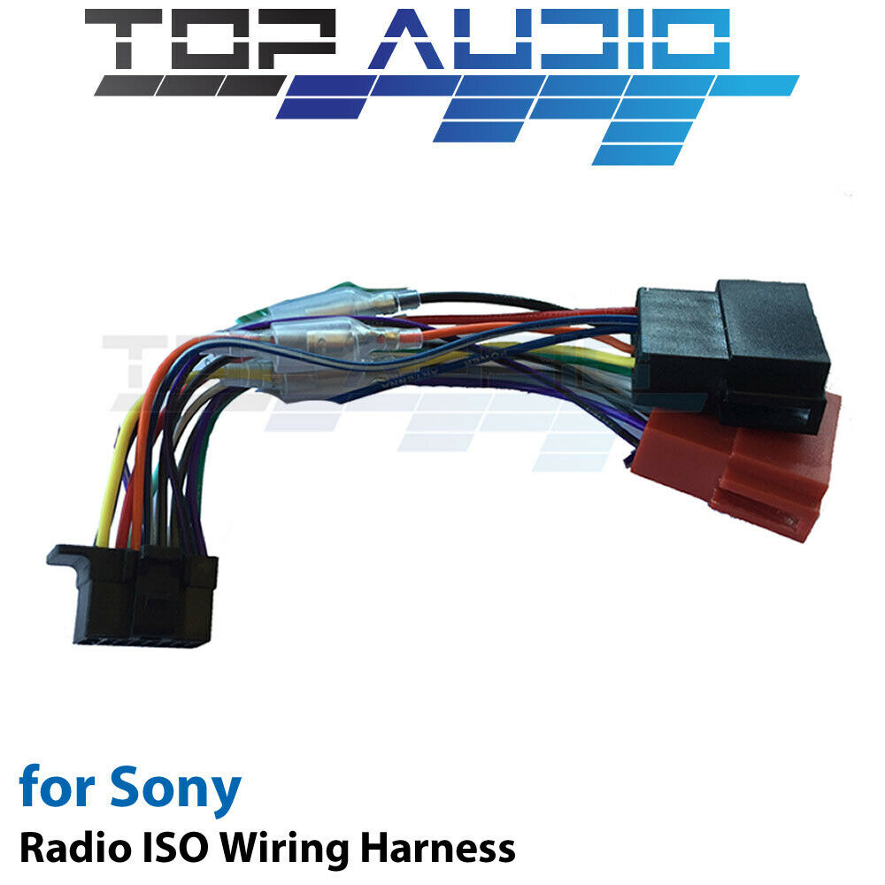 Sony Xplod Wiring Harness Wire Color Codes Auto Colors