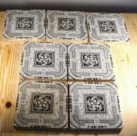 Mintons China Works SEVEN Fireplace Tiles 1883  30.00 ...