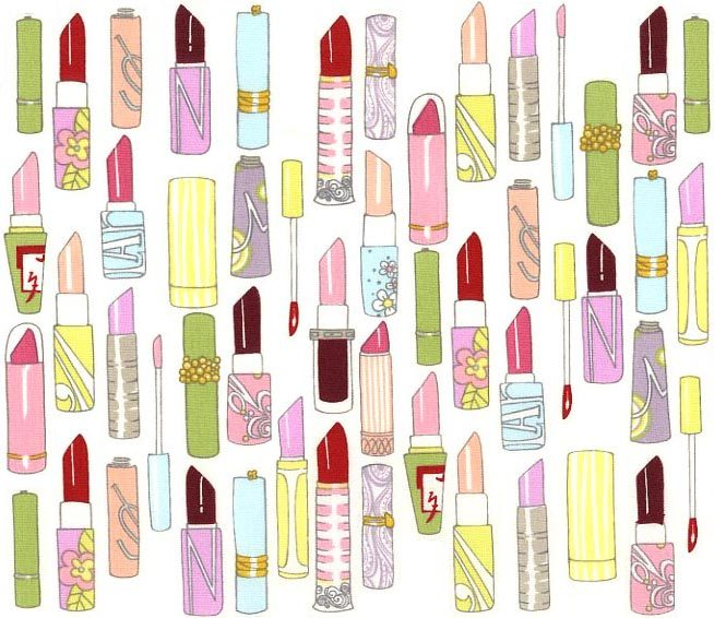 Cute Animated Dolls Wallpapers Lipstick Graphic Animated Gif Graphics Lipstick 050083