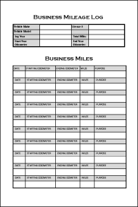 Track Business Miles