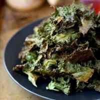 Kale Chips Recipe (Salt and Vinegar)