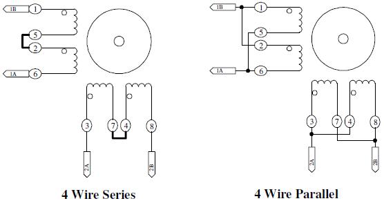stepper motor easy driver stepper motor wiring 4 wire stepper motor