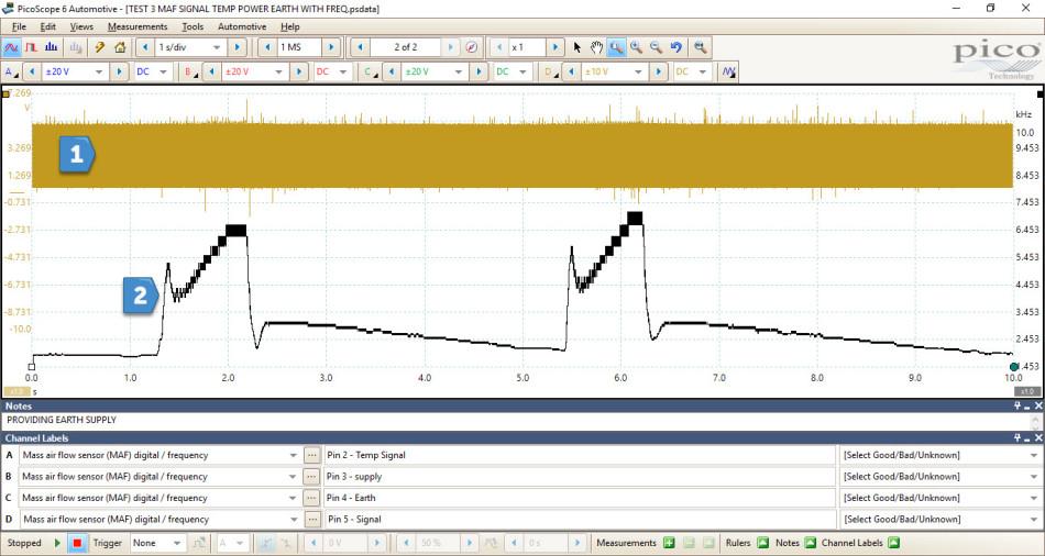 EcoBoost\u2013 MAF Sensor