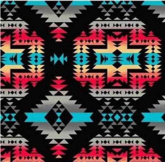 Aztec Print Wallpaper Hd Fleece Fabric By The Yard Shop All Fleece Fabric