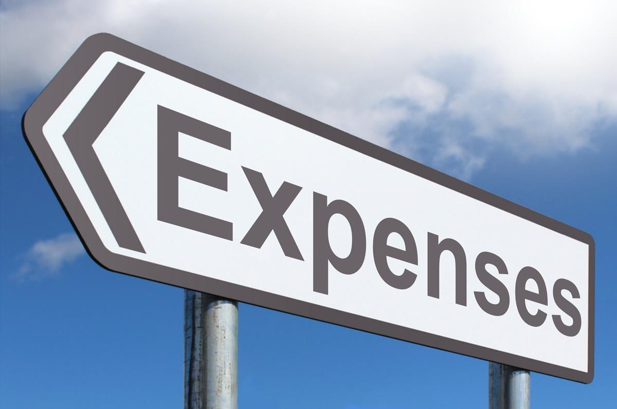 expenses format