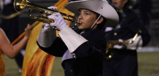 """Cuthbertson High School Marching Cavaliers perform """"Fire and Ice"""" at Providence Cup 2013."""