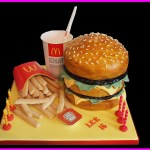 Big Mac and Fries Cake