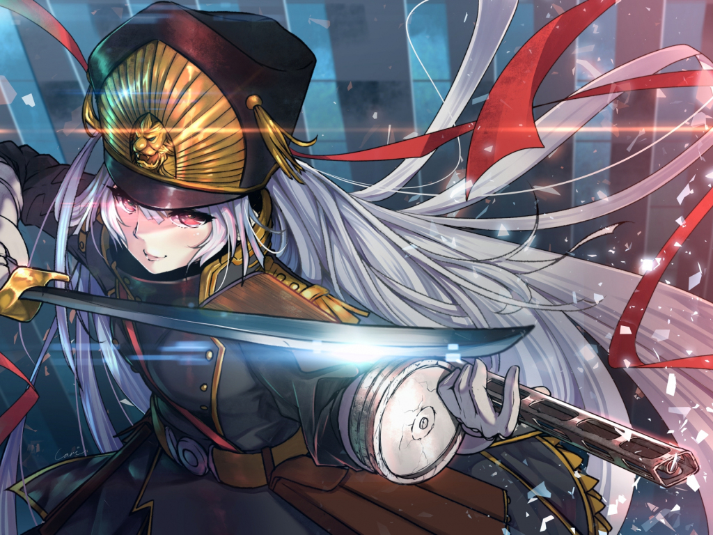 Anime Girl Angle Wallpaper 1366x768 Desktop Wallpaper Re Creators Fight Anime Girl Hd Image