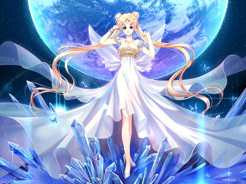Cute Baby Girl Hd Wallpaper For Mobile Desktop Wallpaper Princess Anime Girl Long Hair Hd