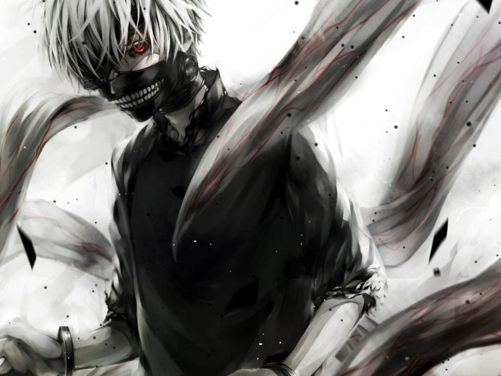 Cute Hd Wallpapers 1080p Widescreen Desktop Wallpaper Tokyo Ghoul Anime Boy Ken Kaneki Hd