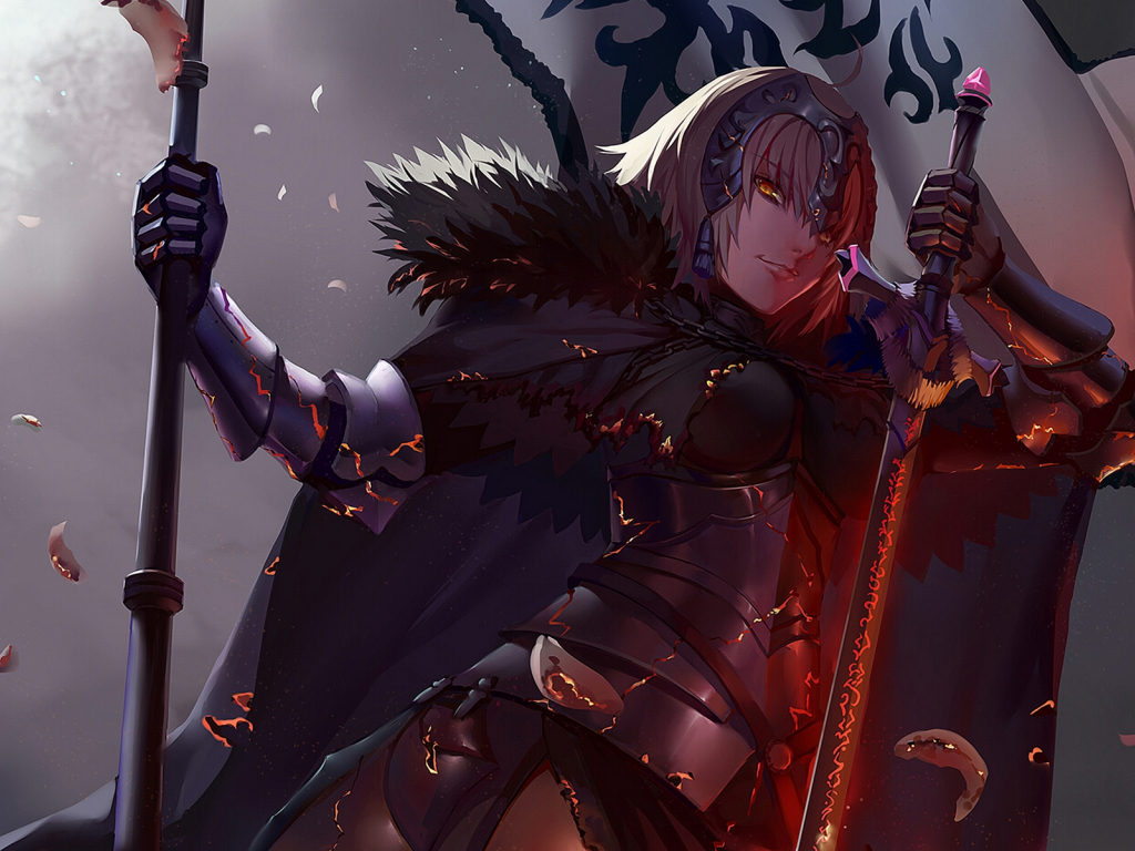 Girl Hd Wallpapers For Pc Desktop Wallpaper Jeanne D Arc Alter Fate Grand Order