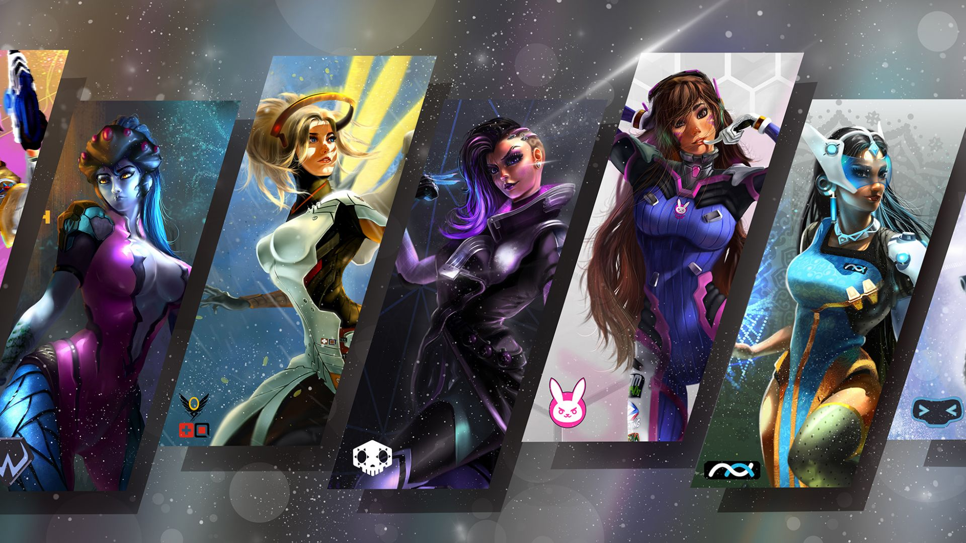 4k Anime Girl Wallpaper For Phones Desktop Wallpaper Overwatch Video Game Girls Hd Image