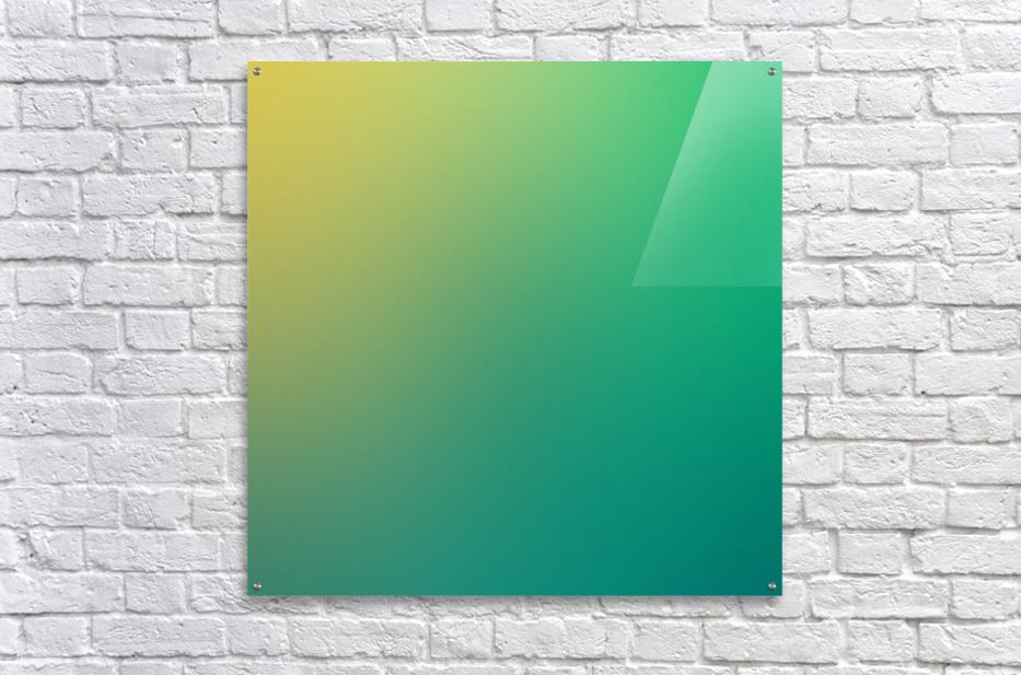 Green to yellow Gradient Background - rizu_designs Canvas