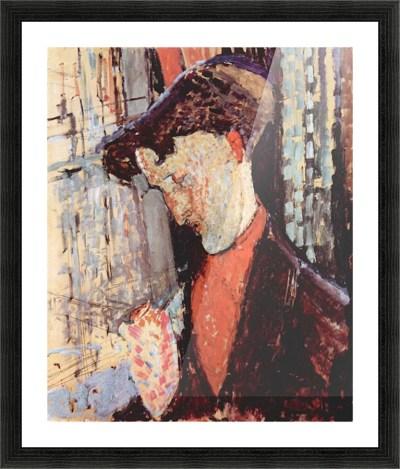 Modigliani - Portrait of Frank Burty Haviland - Modigliani Canvas