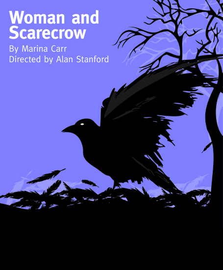 Woman and Scarecrow 2