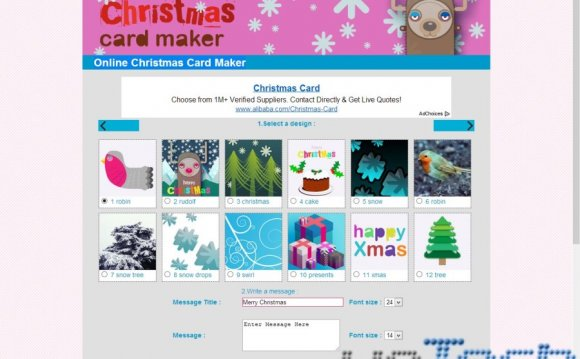 Christmas Greeting Cards - Greeting Card Examples and Templates