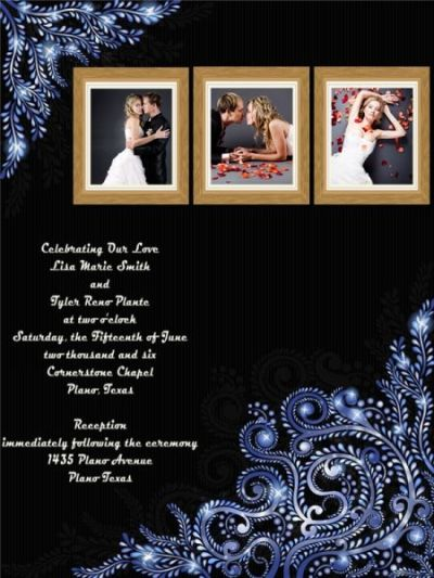 Wedding Invitation Card Add-on Templates - Download Free