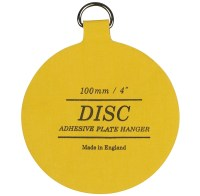 100mm Disc Plate Hangers up to 2.5 kgs Pack of 5